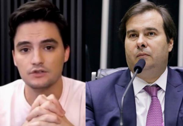 Felipe Neto aceita convite feito por Rodrigo Maia para reunião sobre projeto das fake news