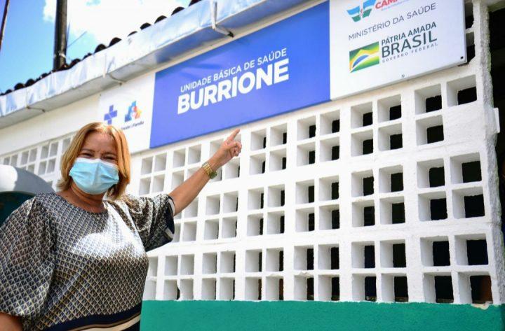 Doutora Nadegi entrega Unidade de Saúde do Burrione requalificada à população