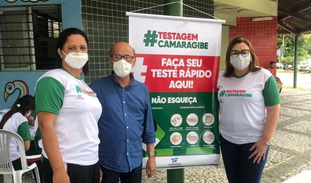 Em Camaragibe, Praça da Coimbral iniciará testagem gratuita da Covid-19 nesta terça-feira