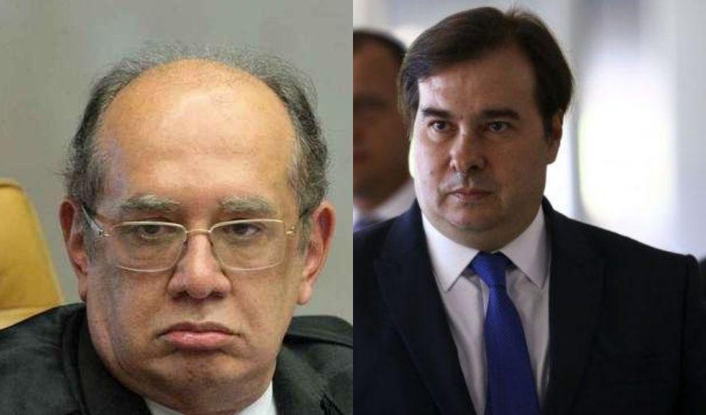 Após ataque proferido por Bolsonaro, Maia e Gilmar Mendes saem em defesa da liberdade de imprensa