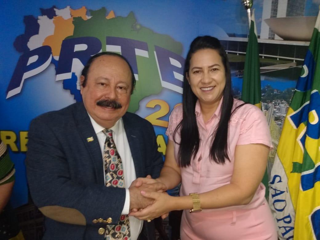 PRTB oficializa Missionária Savana como pré-candidata à Prefeitura de São Lourenço