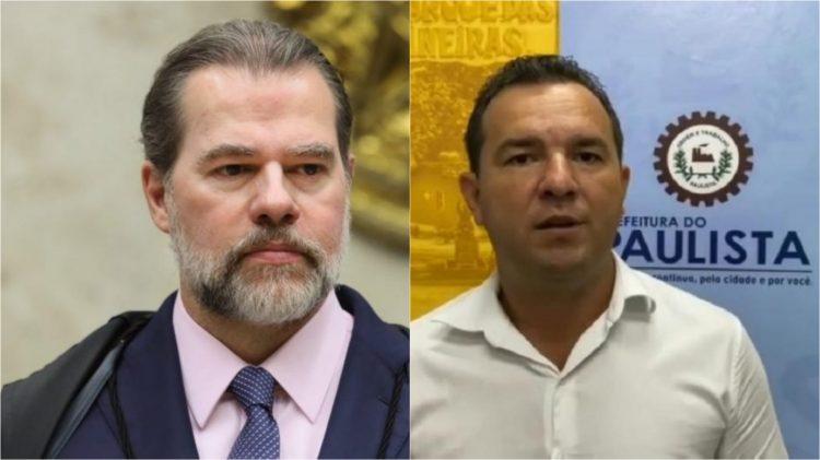 Dias Toffoli concede liminar para Junior Matuto retornar à Prefeitura do Paulista
