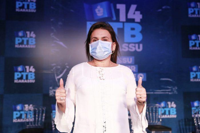 É oficial: Vice-prefeita de Igarassu, Professora Elcione Ramos, é anunciada como pré-candidata pelo PTB