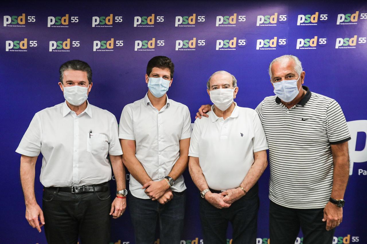 PSD oficializa apoio a pré-candidatura de João Campos no Recife