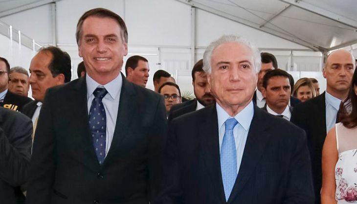 Temer: 'Bolsonaro se descontrolou um pouco. Mas há tempo de consertar'