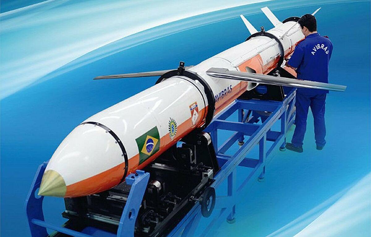 Brasil constrói míssil de longo alcance capaz de atingir países da América do Sul