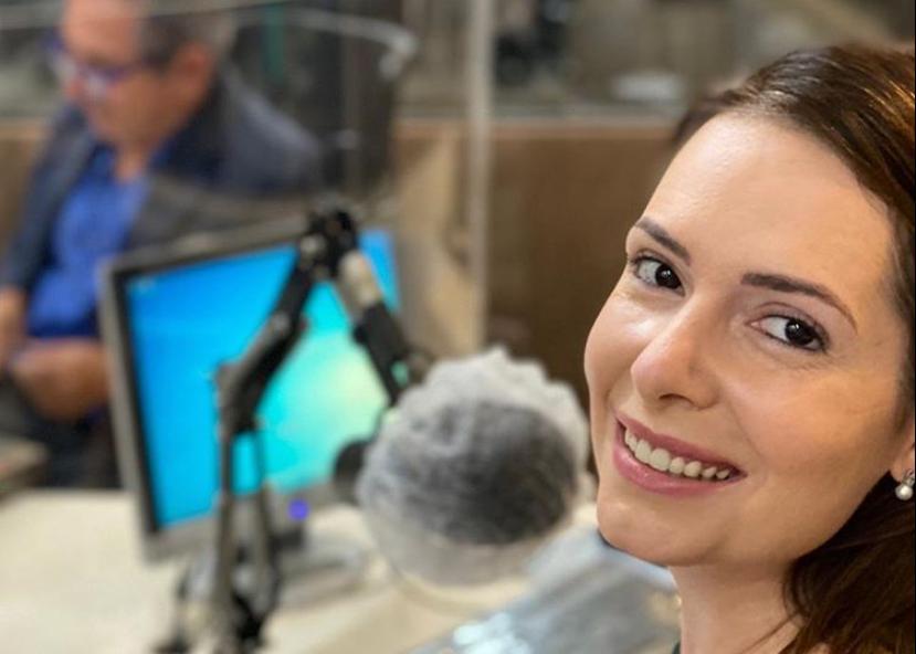 Patrícia Domingos participa de sabatina na Rádio Jornal