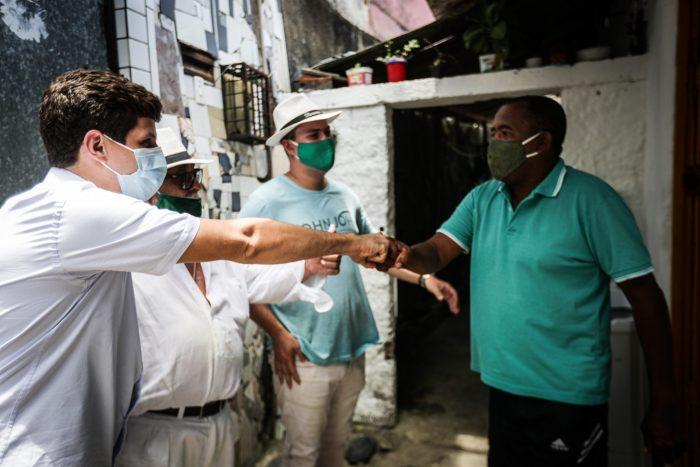 João Campos reforça prioridade para áreas de morro