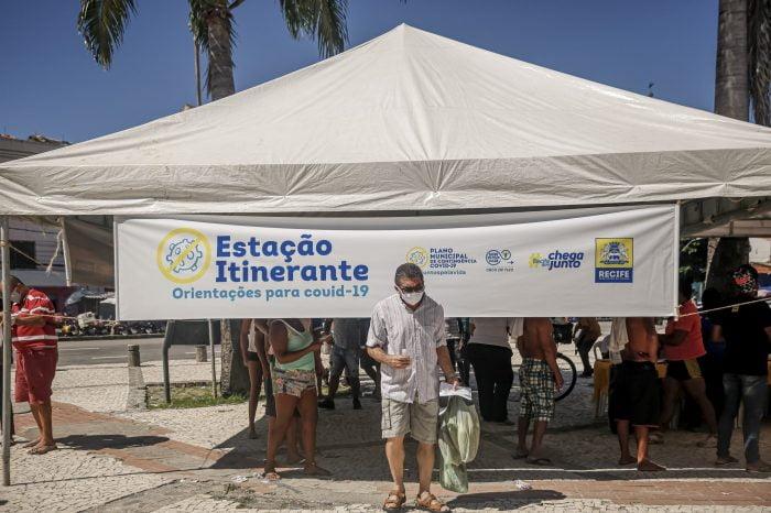 A ação porta a porta nas comunidades mais vulneráveis do Recife começa na segunda-feira (21) no Córrego do Deodato, em Água Fria. Na terça (22), será a vez da Comunidade Bom Clima, na Guabiraba.