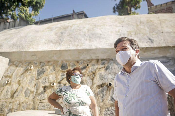 Prefeitura do Recife protege encosta na comunidade de Lagoa Encantada