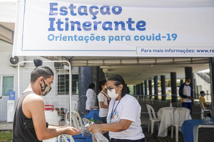 Estações Itinerantes do Recife chegam a oito novos locais nesta semana