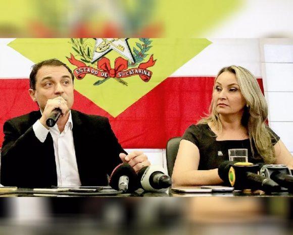 Governador e vice de SC são alvos de processo de impeachment
