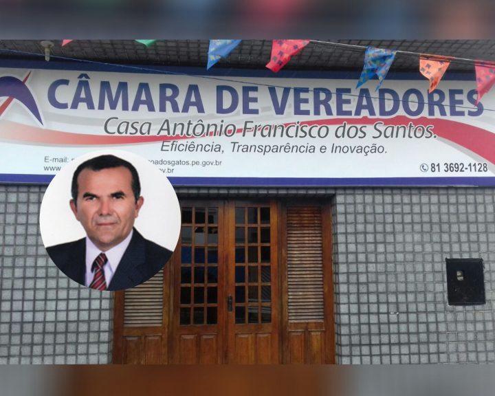 Vereador do PT terá perda de mandato em Lagoa dos Gatos após recomendação do MPPE
