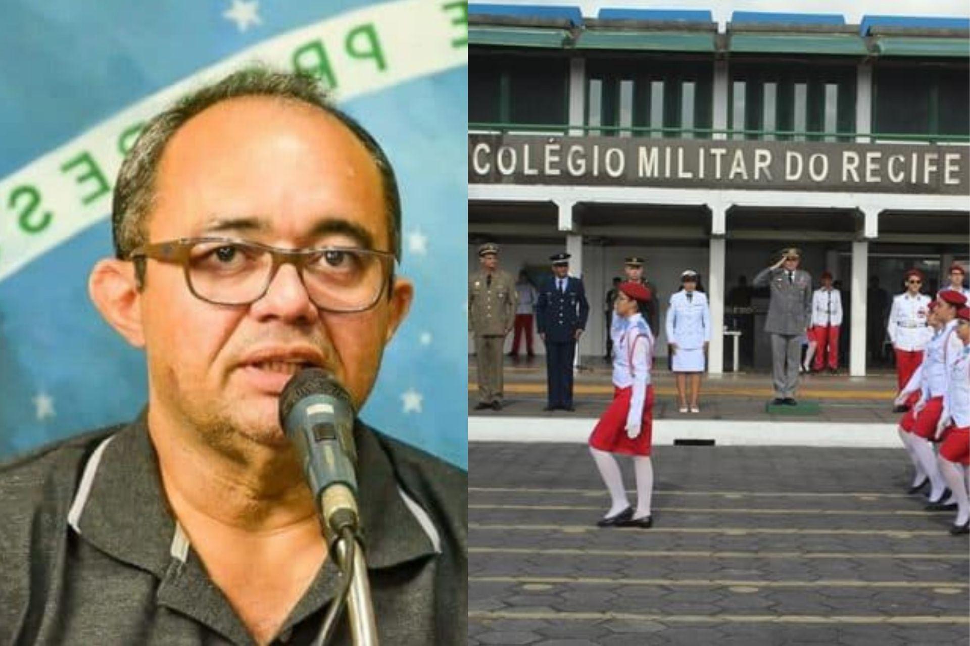 """""""O Recife precisa de escolas Cívico-Militares"""", diz Albérisson Carlos"""