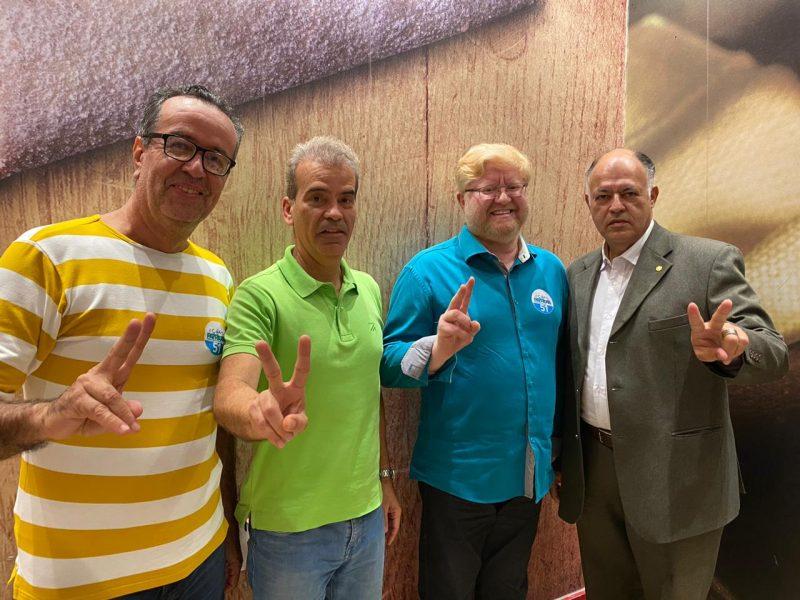 Pastor Wellington Carneiro, do Patriota, será o vice do Coronel Alberto Feitosa nas eleições do Recife