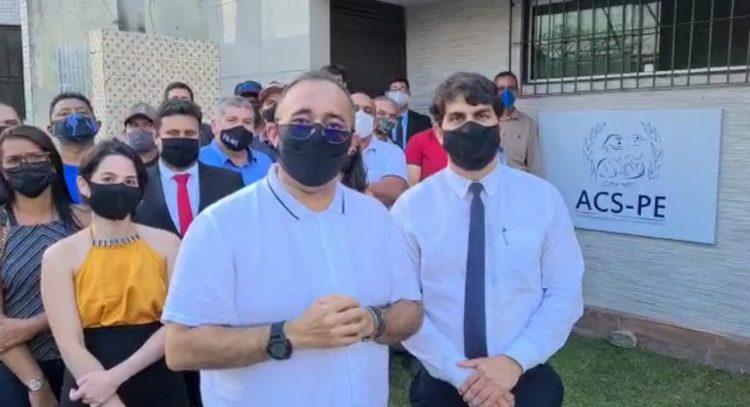 Albérisson Carlos anuncia novo escritório jurídico da ACS-PE, em Palmares