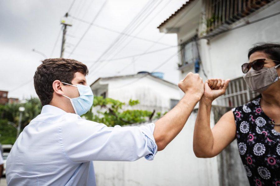 João Campos destaca o combate às desigualdades foco da Prefeitura do Recife