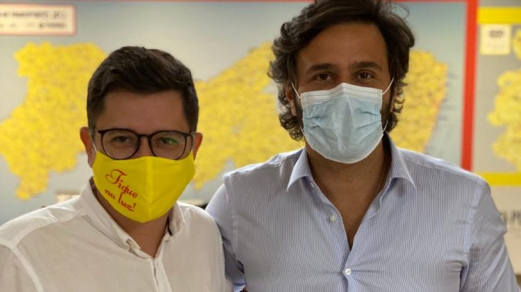 Eduardo Amâncio se reúne com secretário Rodrigo Novaes e sugere turismo religioso