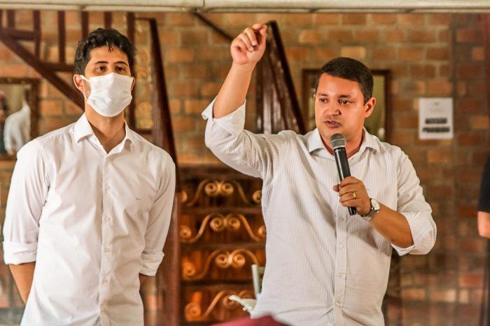 Padilha tem agenda intensa no primeiro dia de Campanha em Paulista