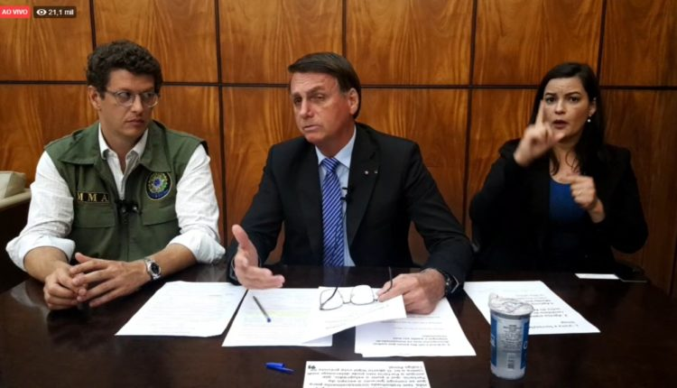 Jair Bolsonaro diz que pode apoiar candidatos nas eleições