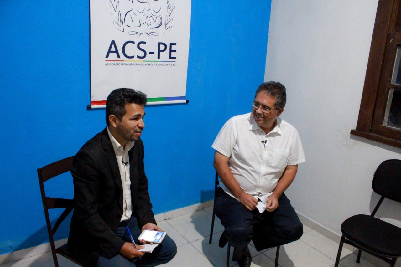 Celso Muniz apresenta propostas para a segurança pública de Olinda