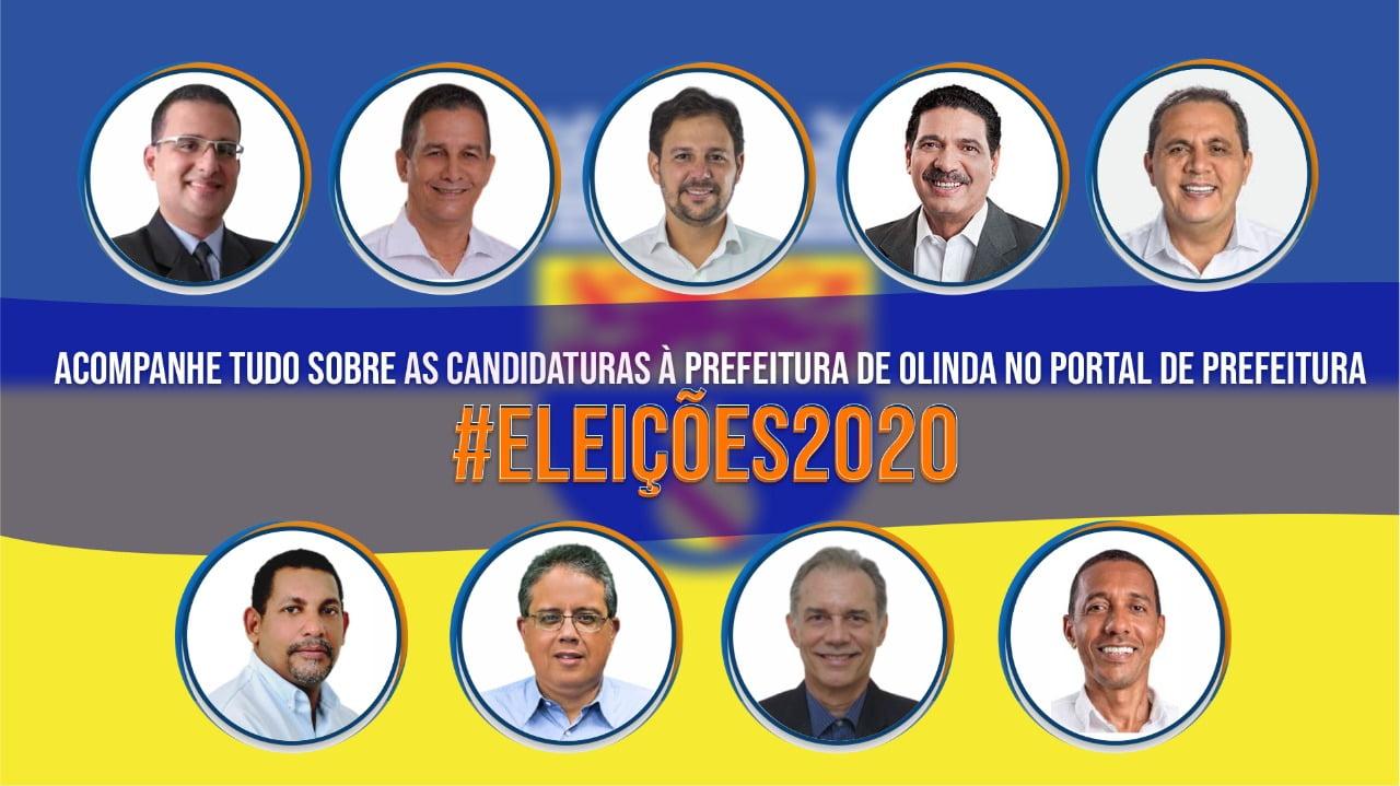 Guia Eleições 2020: Confira as candidaturas em Olinda