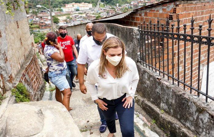Marília se compromete com obras para acabar com pontos de risco nos morros