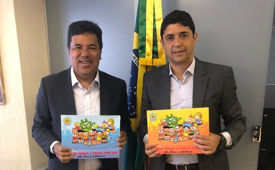 Mendonça apresenta ao ministro da Transparência projeto de combate à corrupção com políticas de integridade e capacitação de servidores municipais do Recife
