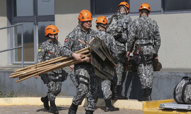 O secretário estadual de Segurança Pública, Alexandre Bustamante, informou que os agentes da Força Nacional não atuarão apenas na região do Pantanal, mas também em áreas de Cerrado e da Amazônia