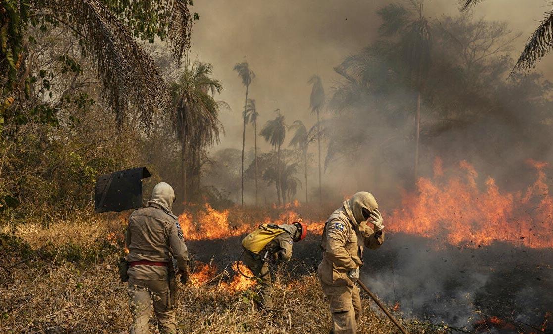 Governo libera quase R$ 4 milhões para combate aos incêndios no Pantanal