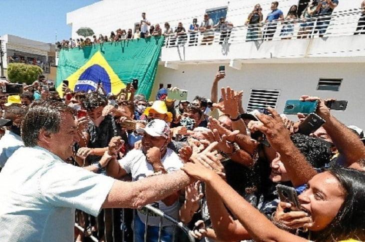 """Bolsonaro em discurso no Maranhão: """"vamos mandar embora o comunismo do Brasil"""""""