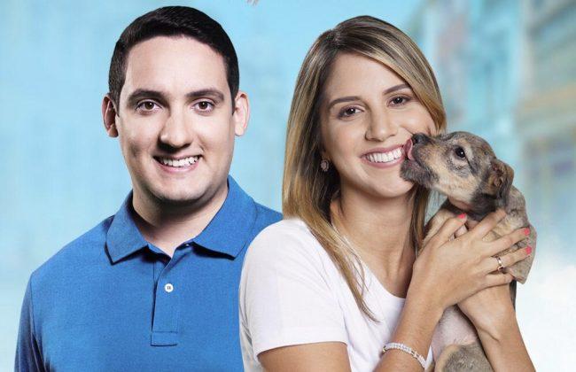 Andreza e Romero Albuquerque realizam caminhada no Dia Mundial dos Animais