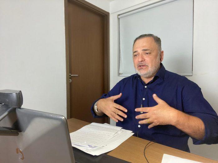 """""""Vamos tirar a navegabilidade do papel"""", diz Marco Aurélio em sabatina"""