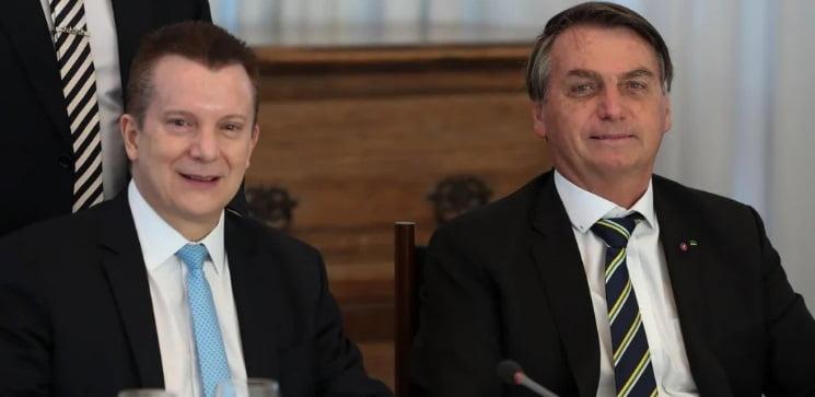 Bolsonaro confirma apoio no 1° turno a Russomano em SP