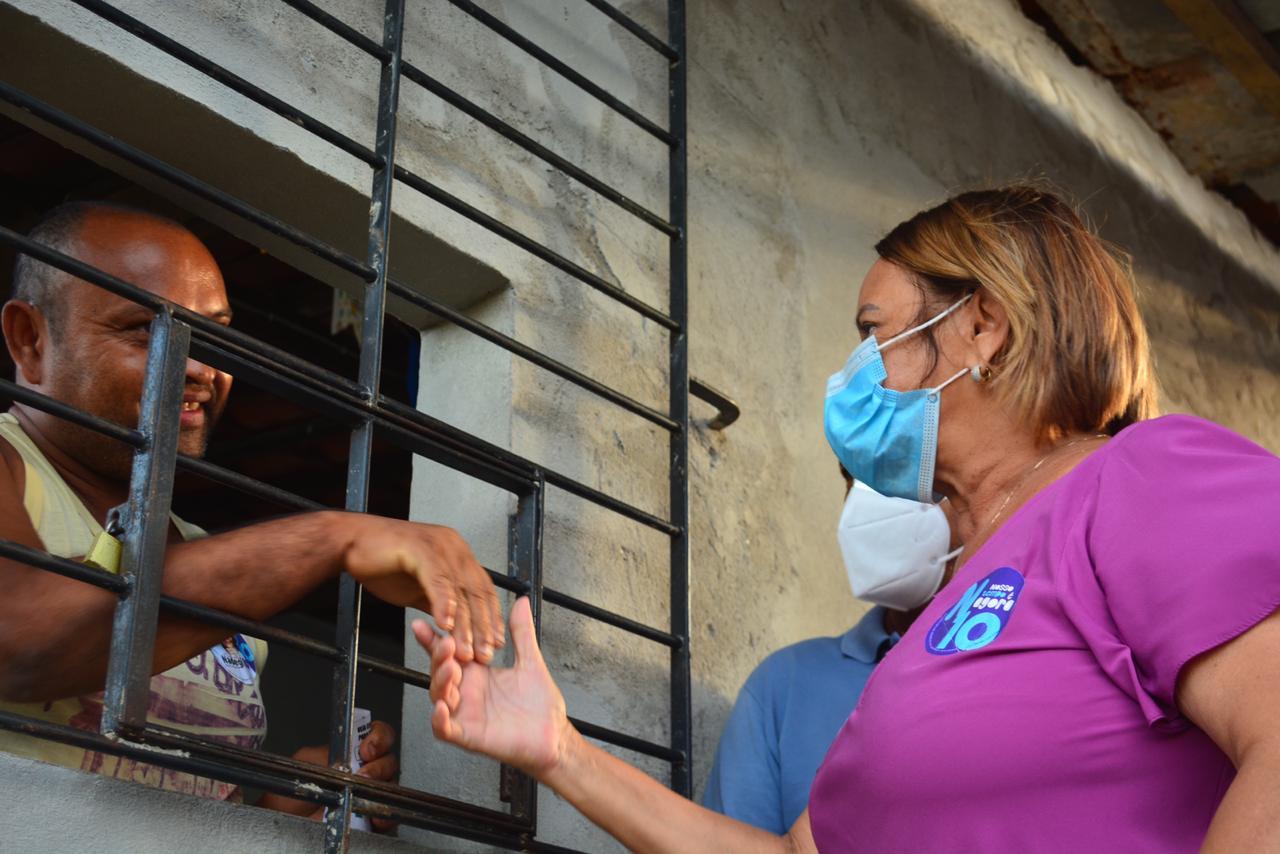 Doutora Nadegi vai construir um Cemec para o povo de Alberto Maia e toda RPA 2
