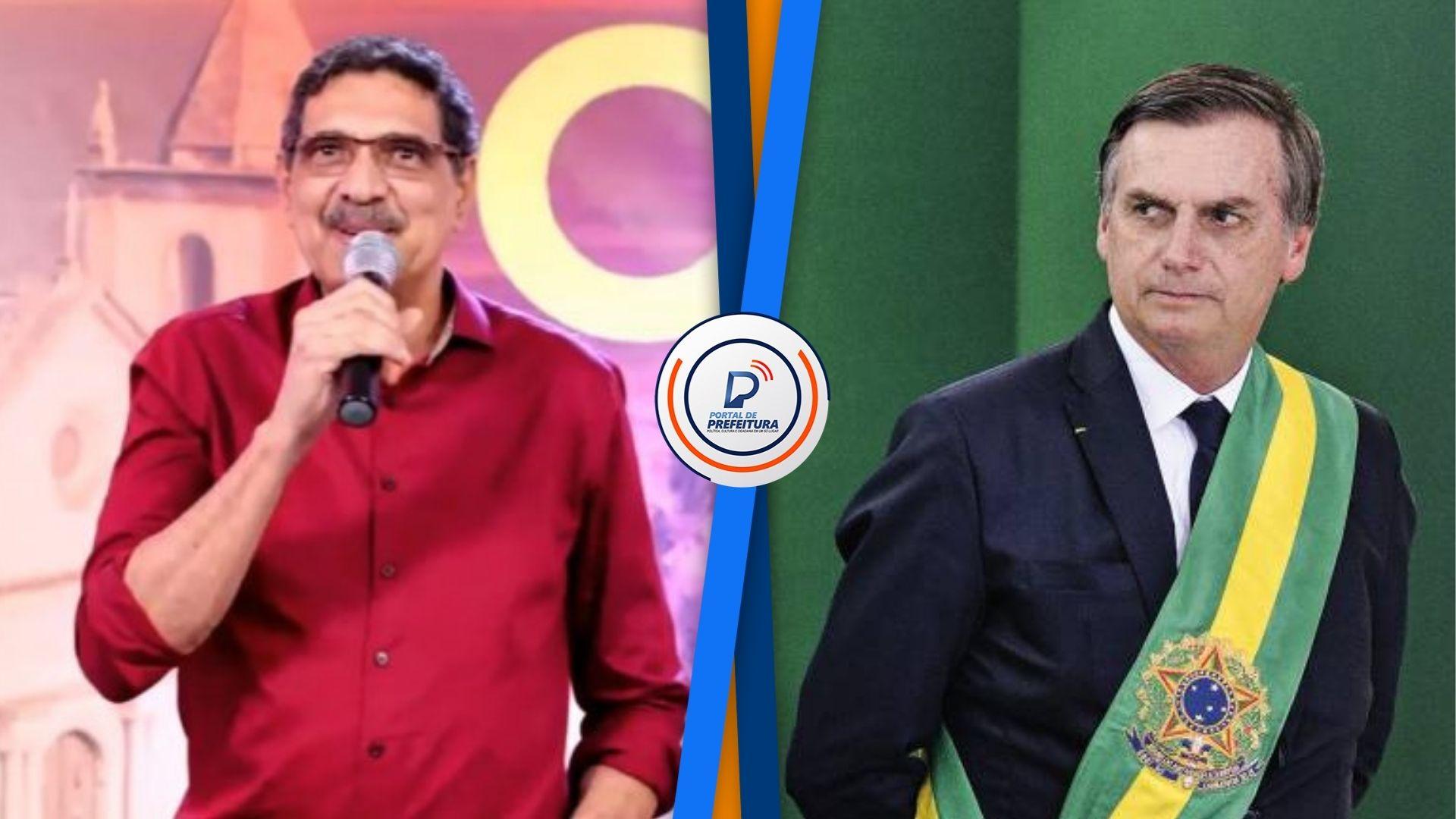 Em Olinda, João Paulo afirma que, se eleito, vai cobrar 'responsabilidade' de Bolsonaro