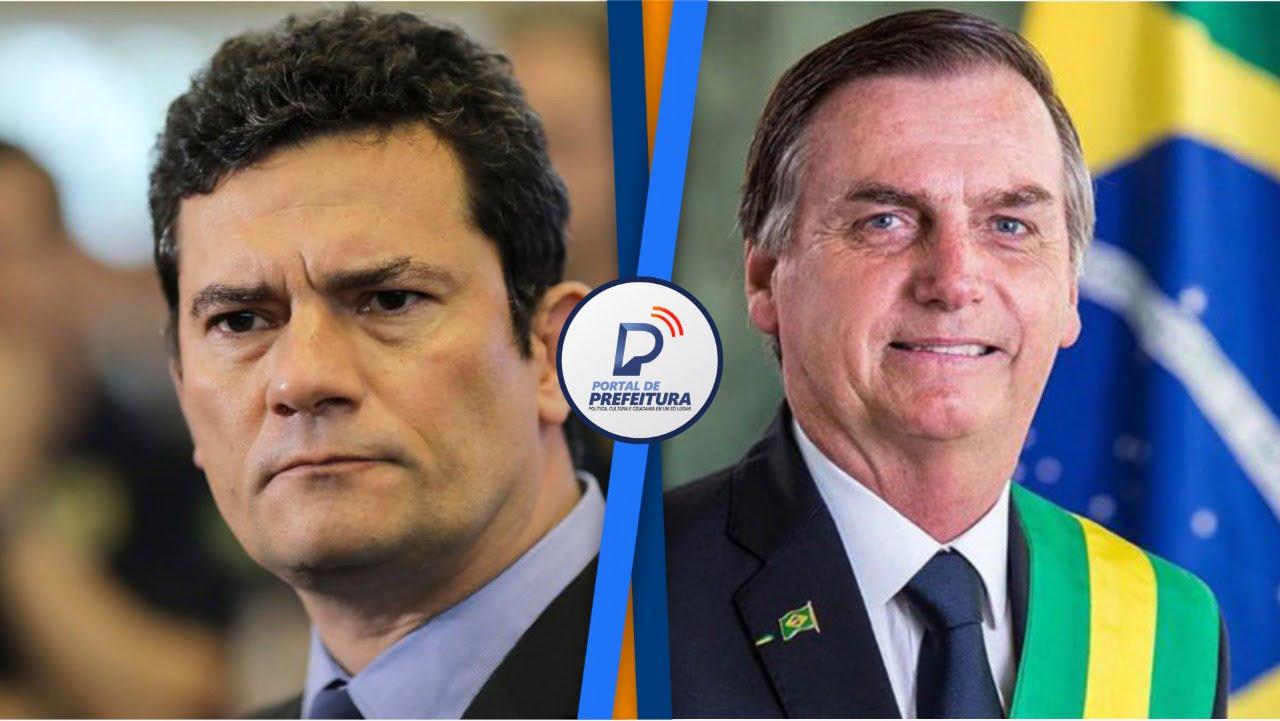 Sergio Moro pede ao STF que depoimento de Bolsonaro seja presencial