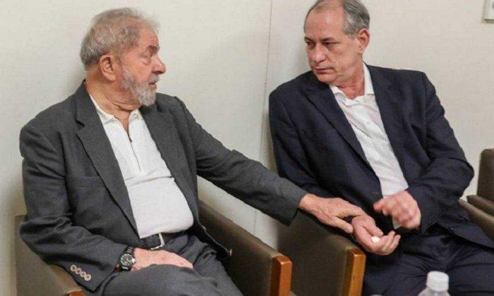 Lula e Ciro Gomes se encontram e selam a paz após romperem em 2018