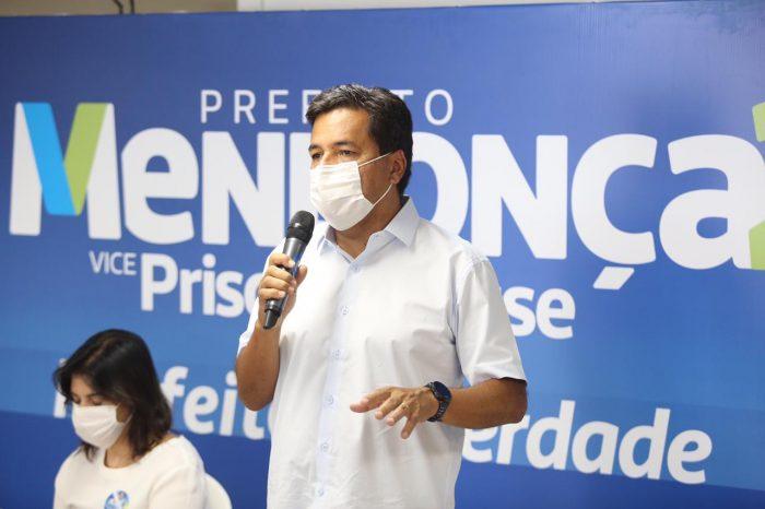 Mendonça afirma que suspenderá reajuste de 3,92% do IPTU previsto para 2021