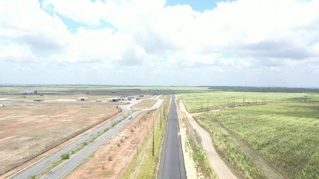 Inauguração da Rodovia Osvaldo Rabelo Filho, é realizada pela prefeitura de Goiana