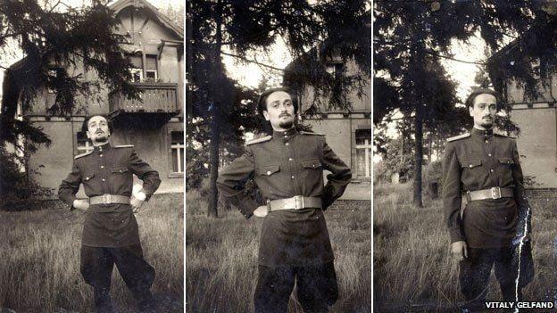 Tenente Soviético Vladimir Gelfand.