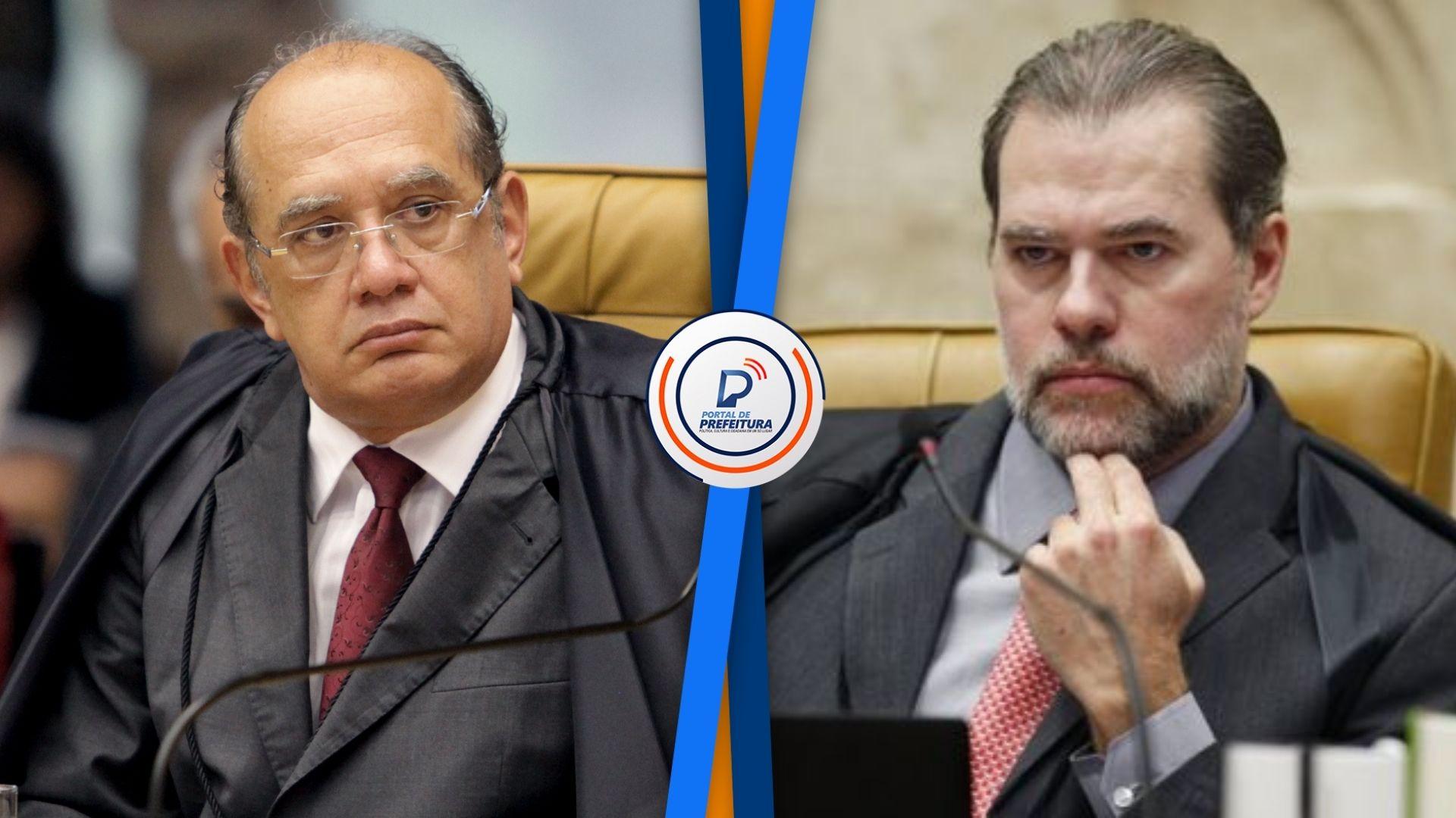 Gilmar Mendes e Dias Toffoli votam pela reeleição de Maia e Alcolumbre
