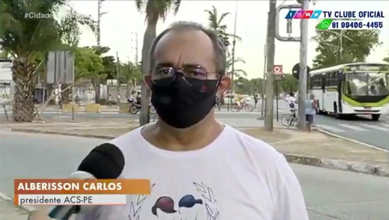 Em entrevista à TV Clube, Albérisson Carlos fala sobre prisão de policiais após fuga de preso