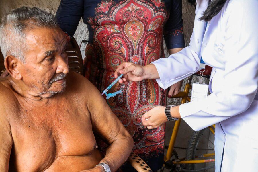 Jaboatão inicia vacinação contra Covid-19 em idosos de 80 a 84 anos nesta quarta-feira