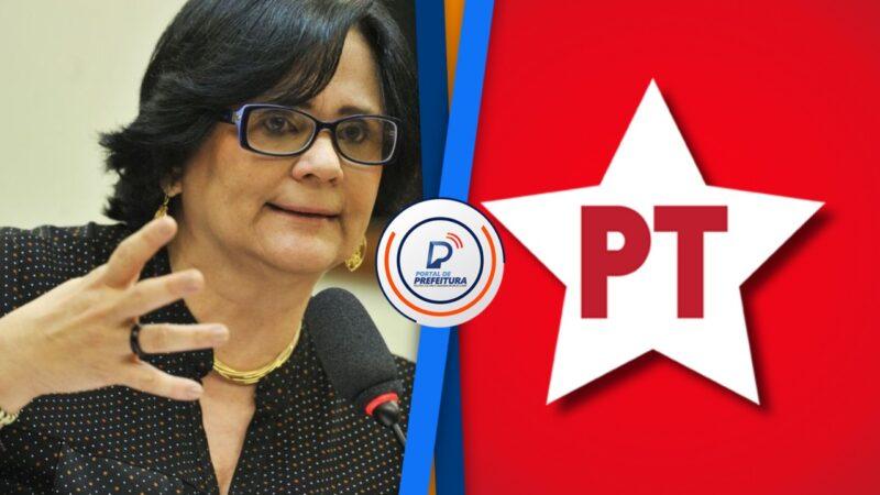 Ministra Damares nega pedido de anistia para dirigente do PT