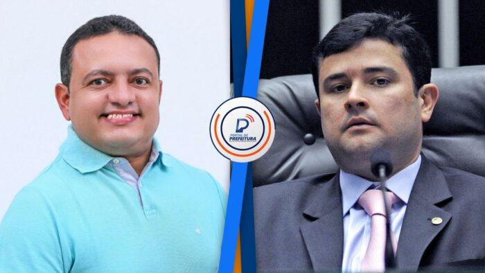 Eduardo da Fonte parabeniza Léo do Ar por vitória na eleição da presidência da UVP