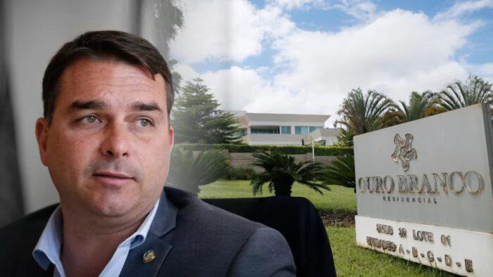 Flávio Bolsonaro compra mansão de quase R$ 6 milhões em Brasília-DF