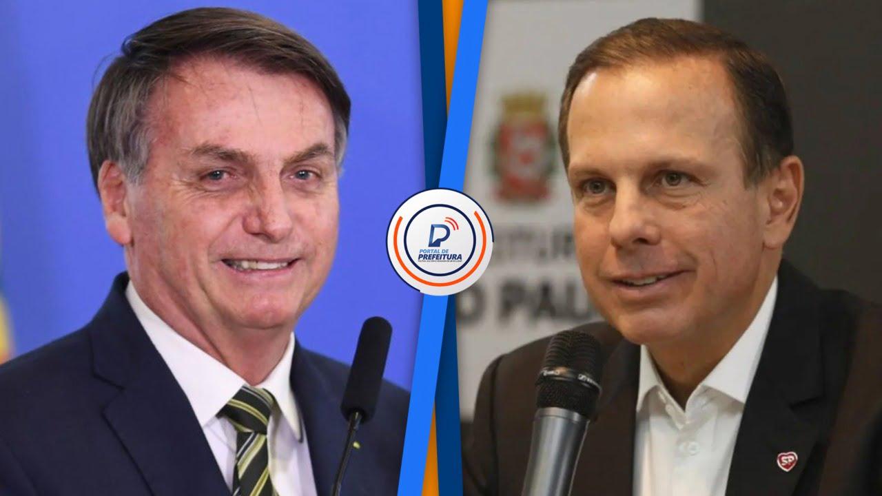 Doria sobre Bolsonaro: 'Temos um psicopata a frente da presidência do Brasil'