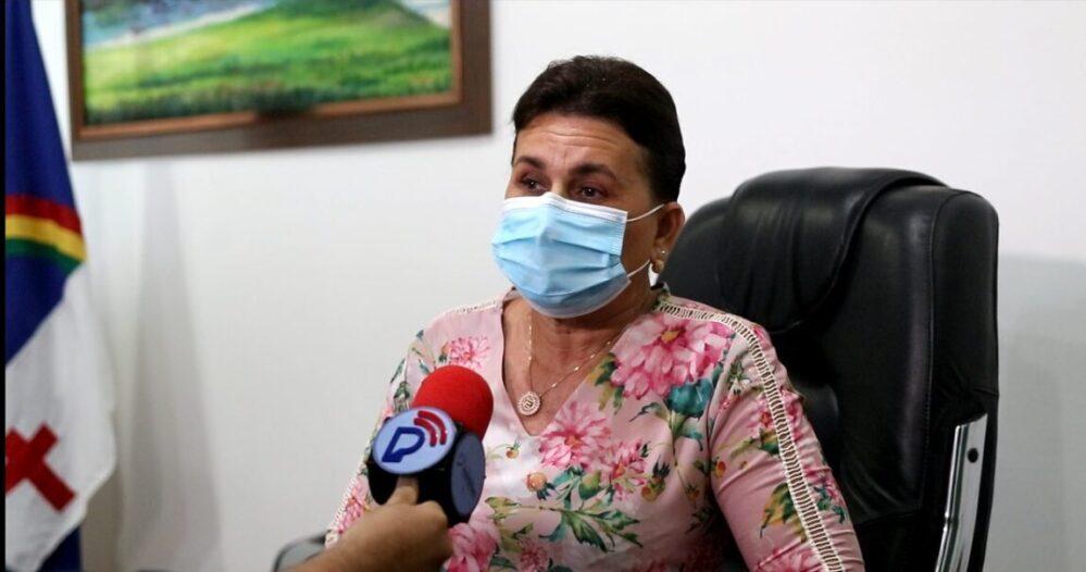Prefeita Professora Elcione Ramos (PTB), prefeita de Igarassu.