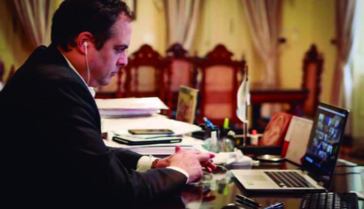 Paulo Câmara reuniu-se com embaixador dos EUA para discutir  sustentabilidade - Portal de Prefeitura